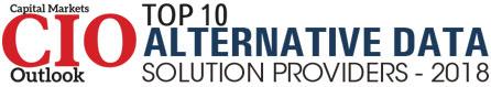 Top 10 Alternative Data Solution Companies - 2018